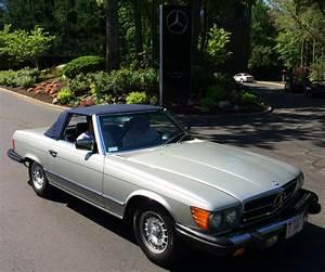 1984 Mercedes 380sl At The 2014 June Jamboree In Montvale