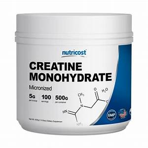 Nutricost Pure Creatine Monohydrate 500g