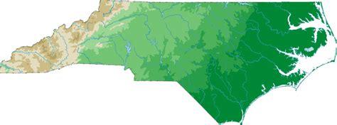 north carolina topo map topographical map