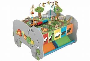 Activite Enfant 1 An : cube d 39 activit en bois b b kidkraft jouet en bois 1 an ~ Melissatoandfro.com Idées de Décoration