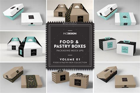 Including multiple different psd mockup templates like cardboard box, cosmetics, coffee cup/mug, shopping bag, car and van mockups. Food Pastry Boxes Mockup Bundle: Take out Packaging ...
