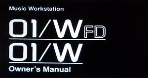 Korg 01w 01wfd Music Workstation Owner U0026 39 S Manual  P45 To