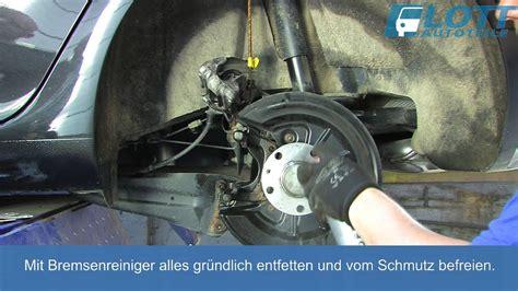 katalysator wechseln anleitung vw golf 5 bremsen wechseln hinten videoanleitung tutorial