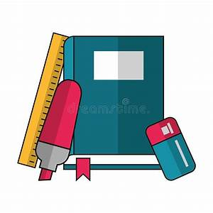 Rule Book Or Policy Guide Manual Stock Illustration