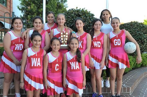 netball st charbels college