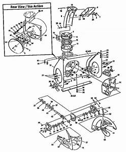 Auger Housing Assembly Diagram  U0026 Parts List For Model
