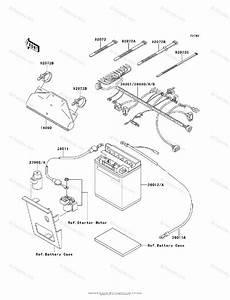 Kawasaki Atv 1994 Oem Parts Diagram For Chassis Electrical
