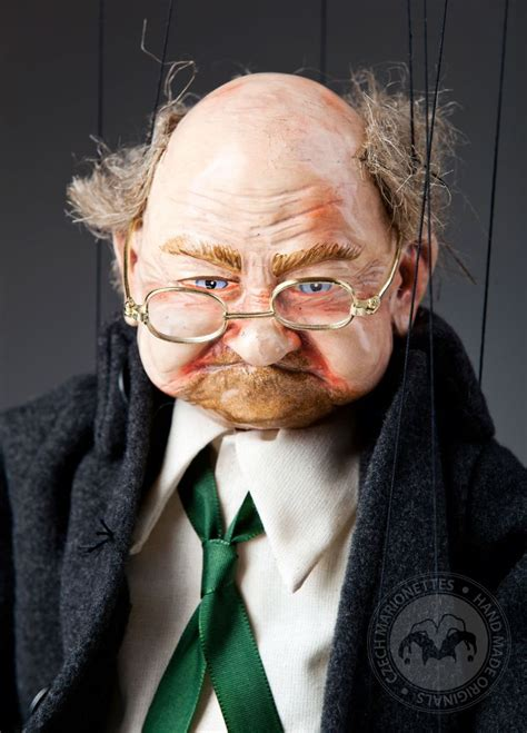 Old Man Joe Marionette Puppet