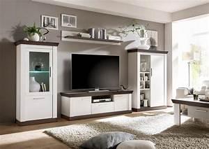 Wohnzimmer Holz Modern : wohnwand ideen modern ~ Indierocktalk.com Haus und Dekorationen