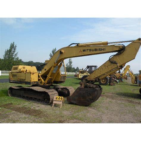 Mitsubishi Excavator by Mitsubishi Ms 180 Excavator