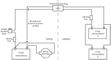 dual battery wiring diagram c trailer