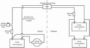 Parallel Battery Wiring Diagram Rv Trailer
