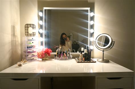 Black Dresser With Mirror Cheap by Diy Makeup Vanity Made2style