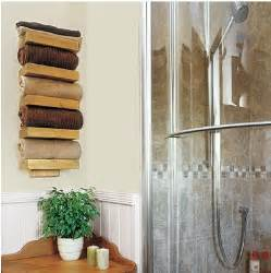 towel rack ideas for bathroom 11 beautiful ways to display bathroom towels tip junkie