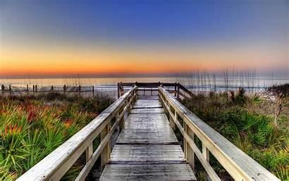 Backgrounds Fullscreen Screen Wallpapers Pier Sunset Ocean