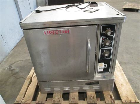 blodgett commercial  size countertop convection oven baking gas  max