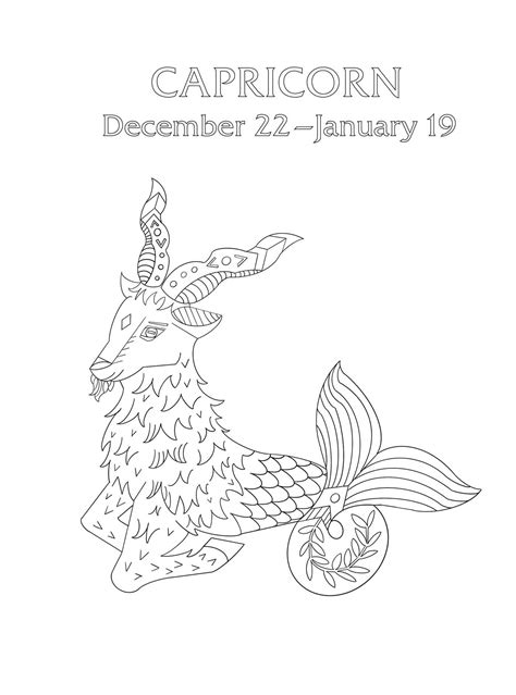 capricorn  cosmic coloring book book summary video official publisher page simon
