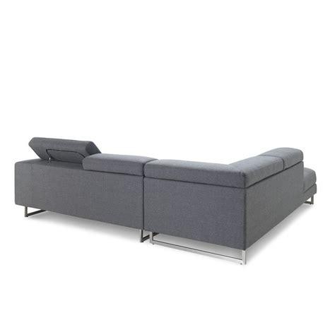 canape angle meridienne tissu canapé d 39 angle côté gauche design 5 places avec méridienne