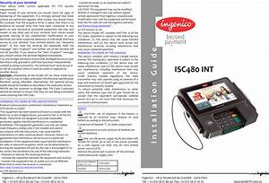 Ingenico Isc480clint Contactless Rfid Payment Terminal