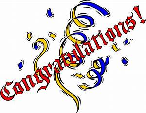 Congratulations Free Images - ClipArt Best