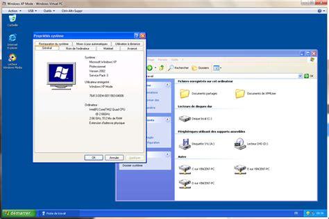 icone raccourci bureau windows 7 la rc du mode xp virtuel est disponible