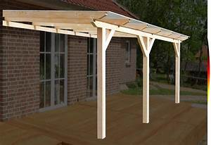 terrassenuberdachung stegplatten glas vsg uberdachung With terrassenüberdachung carport