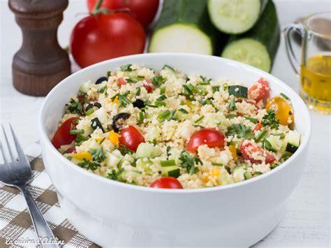 cuisine facile taboulé aux légumes recette facile et rapide la