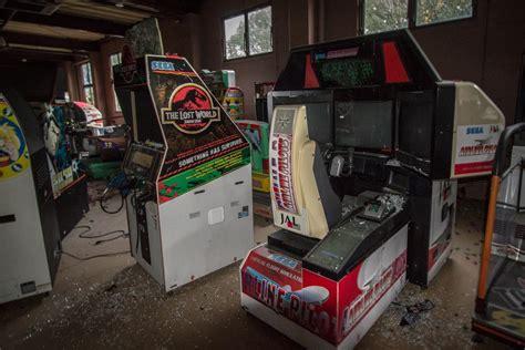 Abandoned Arcade In Nara Japan Gaming