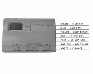 Coleman Mach 8530a3451 Digital Heat Pump Rv Thermostat