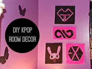 diy k pop room decor wall kpop crafts and ideas