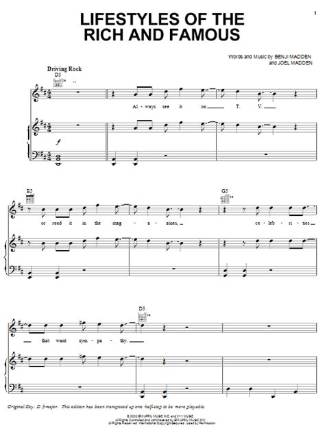 floor anthem chords lifestyles of the rich and sheet by