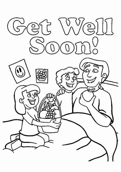 Soon Well Coloring Pages Printable Dad Cards