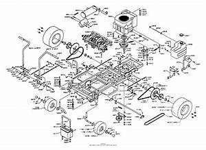 Dixon Ztr 4422  1995  Parts Diagram For Chassis Assembly
