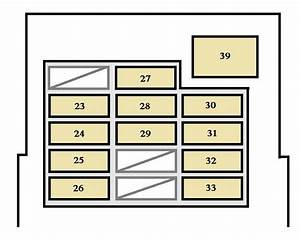 Toyota 4runner  2001 - 2002  - Fuse Box Diagram