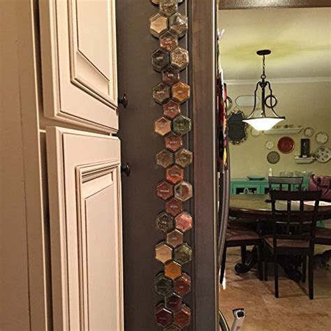 Spice Rack With Empty Jars by Gneiss Spice Diy Magnetic Spice Rack Includes Empty