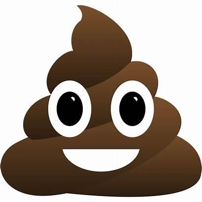 Poop Emoji Clipart Shit Transparent Cartoon Printable