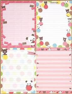 Kawaii letter set with chocopa bear chocolate letter for Kawaii stationery letter set