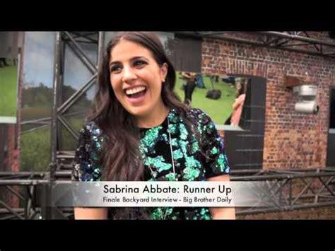 big backyard interviews sabrina abbate big canada 2 backyard