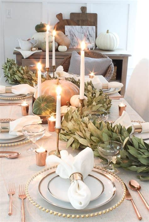 25  best ideas about Fall table on Pinterest   Fall table