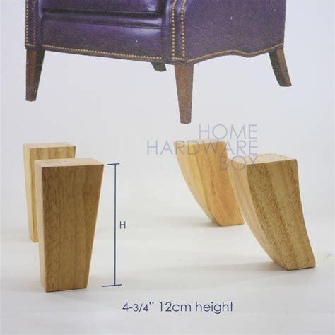 cm sofa wooden leg natural wood furniture stool square