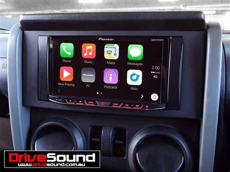 jeep wrangler  apple carplay installed  drivesound