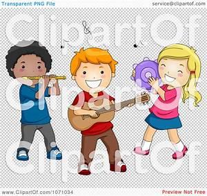 Preschool Children Playing Clip Art
