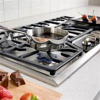 gas cooktop 36 inch Thermador SGSX365FS Masterpiece Stainless 36 Inch Gas Cooktop