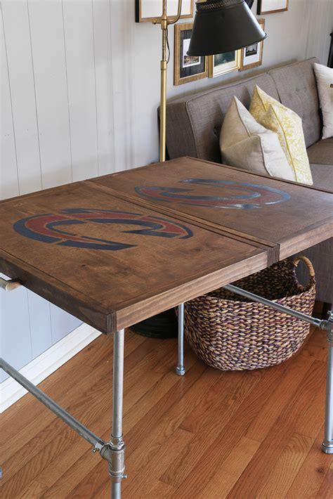 diy cavs industrial folding table