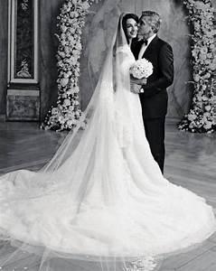 amal alamuddin and george clooney wedding dress photos With amal clooney wedding dress