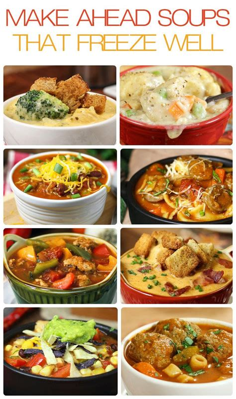freeze ahead canapes recipes 10 ahead soups that freeze well nap times soups
