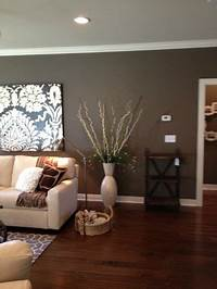 fine accent wall colours Wall color -- Sherwin WIlliams SW7040 Smokehouse   Interior paint colors   Pinterest   Powder ...