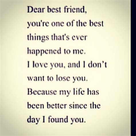 dear  friend quotes pinterest