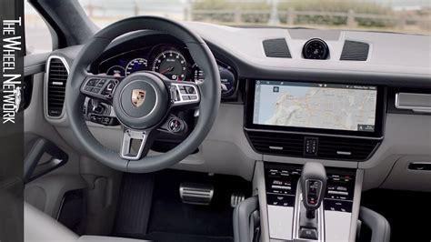 2020 Porsche Cayenne Turbo Coupe Interior
