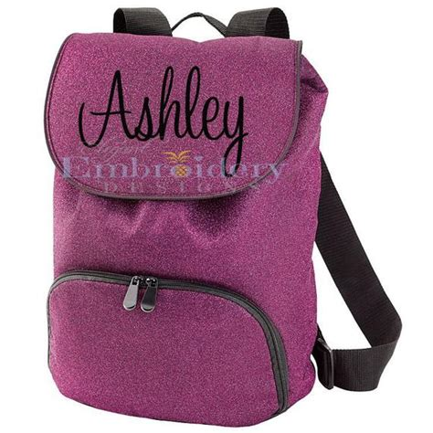 monogrammed cheer backpack custom backpack cheerleader